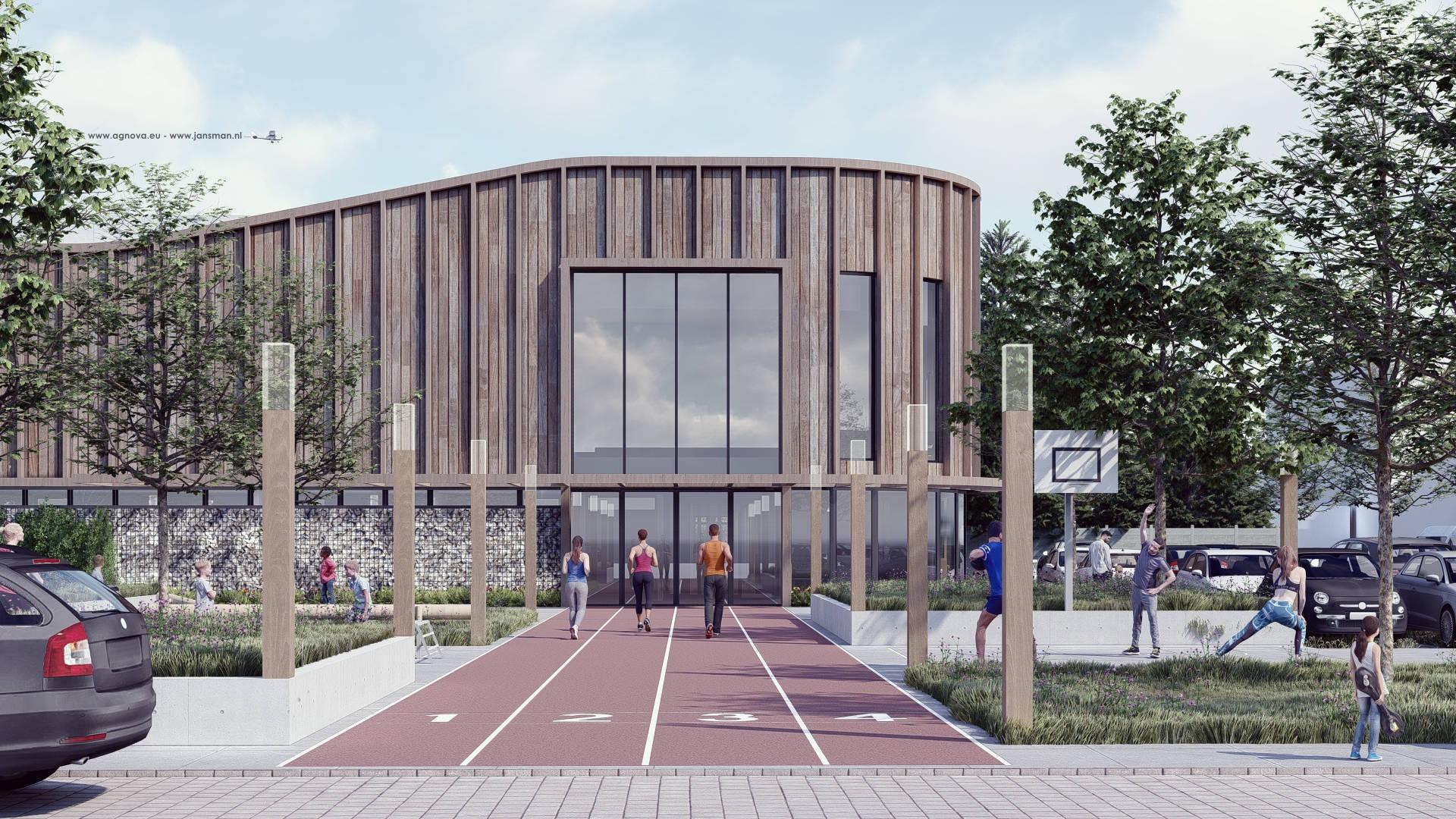AG NOVA Architecten Sporthal Emmer Compascuum