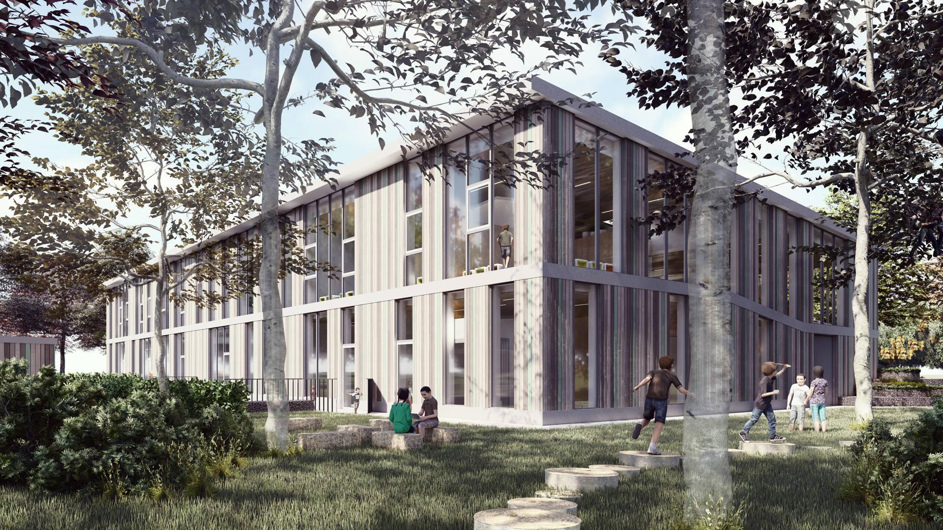 AG NOVA Architecten IKC Berkelwijk Leusden